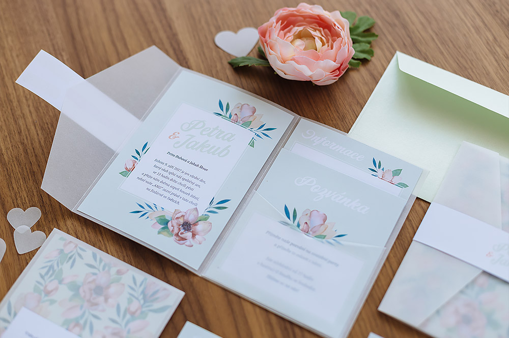 Fresh Mint Green Stationery